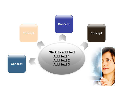 Lungs X-ray PowerPoint Template Slide 7