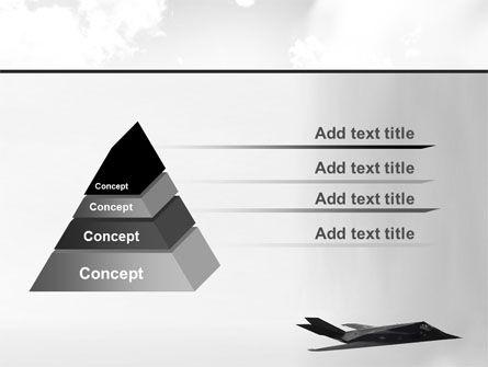 Nighthawk Stealth PowerPoint Template Slide 12