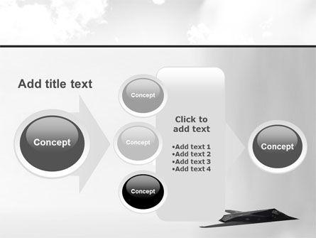 Nighthawk Stealth PowerPoint Template Slide 17