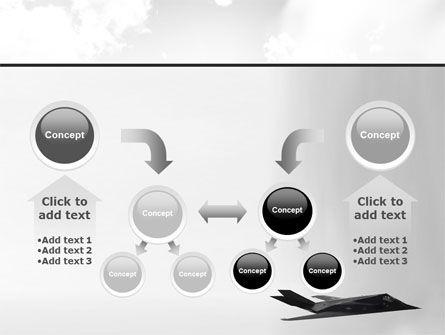 Nighthawk Stealth PowerPoint Template Slide 19