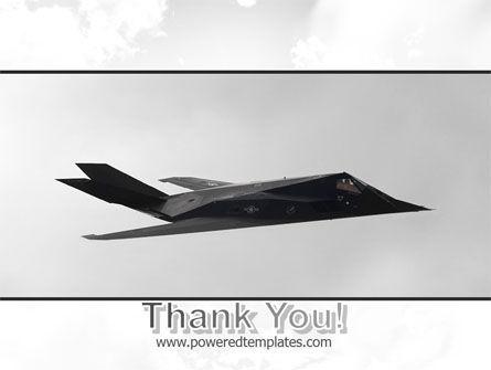 Nighthawk Stealth PowerPoint Template Slide 20
