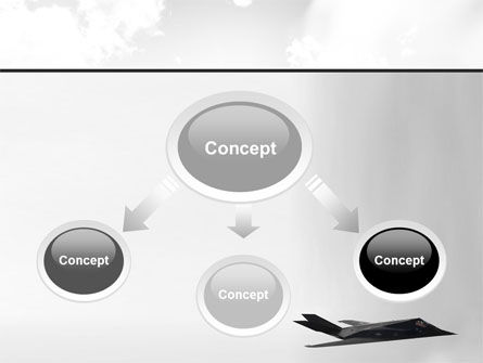 Nighthawk Stealth PowerPoint Template, Slide 4, 08452, Military — PoweredTemplate.com