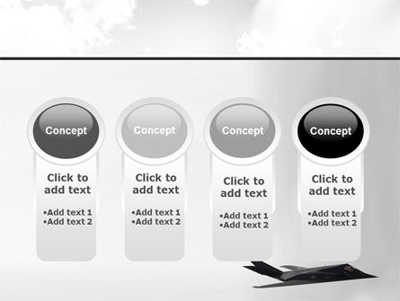 Nighthawk Stealth PowerPoint Template Slide 5