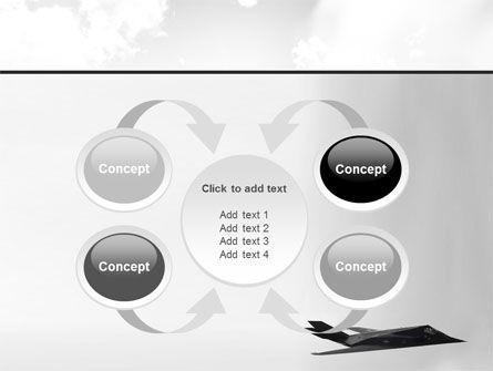 Nighthawk Stealth PowerPoint Template Slide 6