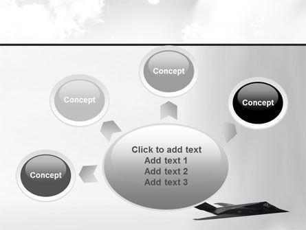 Nighthawk Stealth PowerPoint Template Slide 7