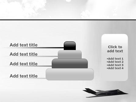 Nighthawk Stealth PowerPoint Template Slide 8