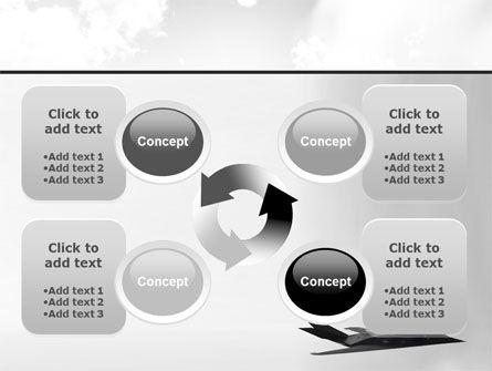 Nighthawk Stealth PowerPoint Template Slide 9