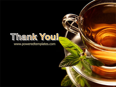Mint Tea PowerPoint Template Slide 20