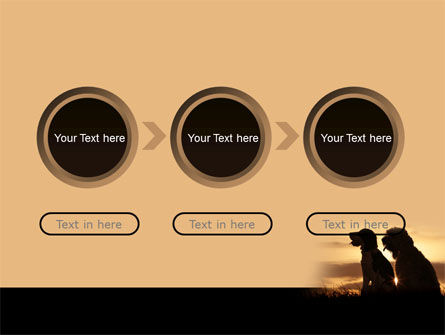 Dog Couple PowerPoint Template Slide 5