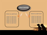 Dog Couple PowerPoint Template#4