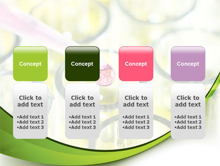 Chemical Drop PowerPoint Template Slide 5