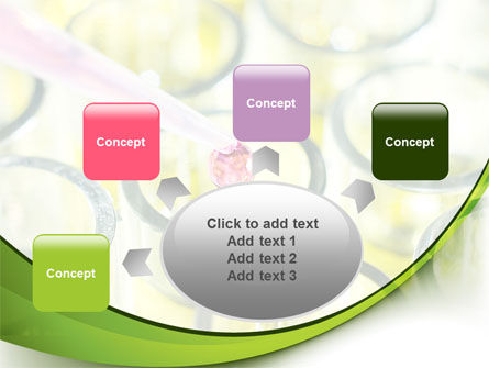 Chemical Drop PowerPoint Template Slide 7