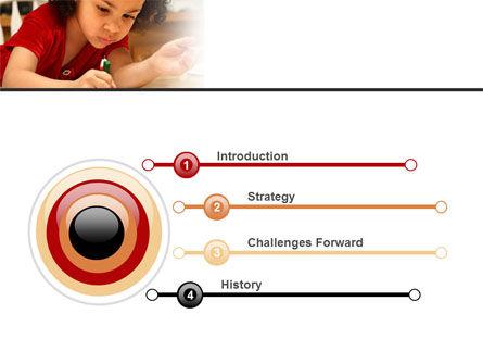 Child Development PowerPoint Template, Slide 3, 08456, Education & Training — PoweredTemplate.com