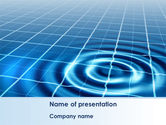 Technology and Science: Ripple Effect PowerPoint Template #08457