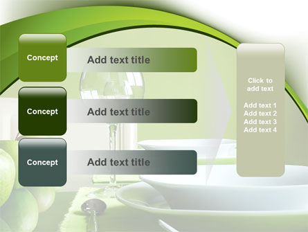 Table Setting PowerPoint Template Slide 12