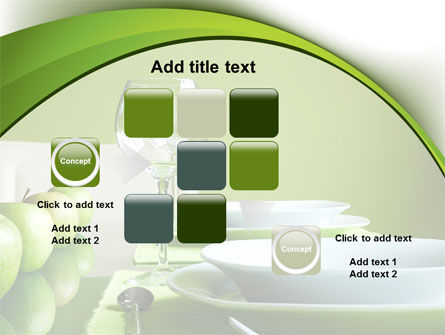 Table Setting PowerPoint Template Slide 16
