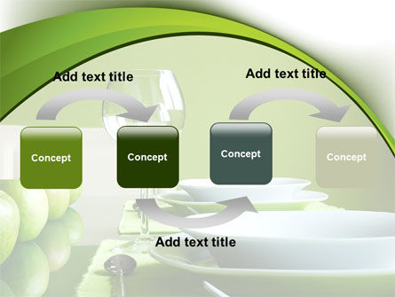 Table Setting PowerPoint Template Slide 4