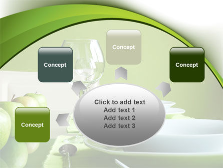 Table Setting PowerPoint Template Slide 7