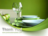 Table Setting PowerPoint Template#20