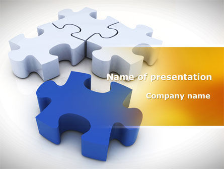 Consulting: Puzzle Fix PowerPoint Template #08462