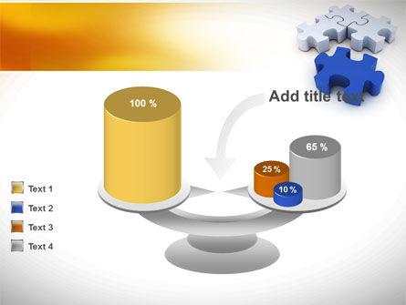 Puzzle Fix PowerPoint Template Slide 10