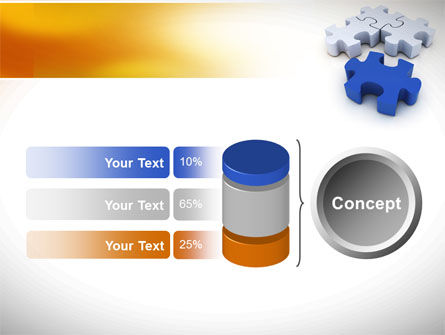 Puzzle Fix PowerPoint Template Slide 11