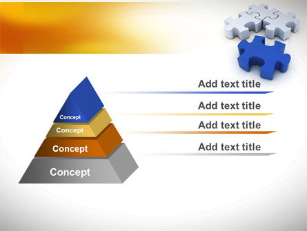 Puzzle Fix PowerPoint Template Slide 12