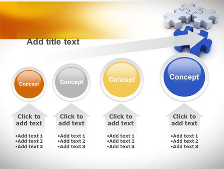 Puzzle Fix PowerPoint Template Slide 13