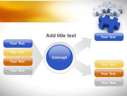 Puzzle Fix PowerPoint Template Slide 14