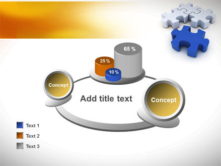 Puzzle Fix PowerPoint Template Slide 16
