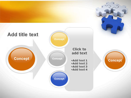 Puzzle Fix PowerPoint Template Slide 17