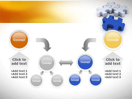Puzzle Fix PowerPoint Template Slide 19