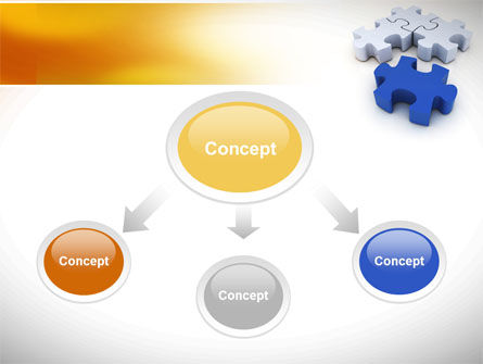 Puzzle Fix PowerPoint Template Slide 4