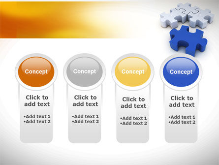 Puzzle Fix PowerPoint Template Slide 5