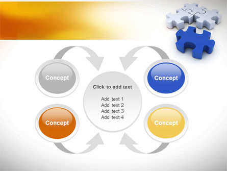 Puzzle Fix PowerPoint Template Slide 6