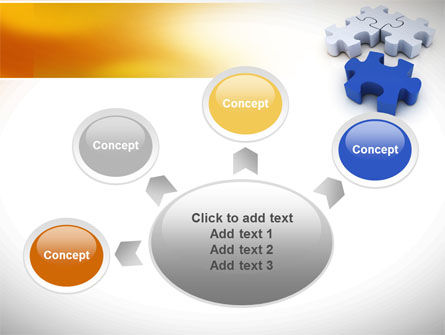 Puzzle Fix PowerPoint Template Slide 7