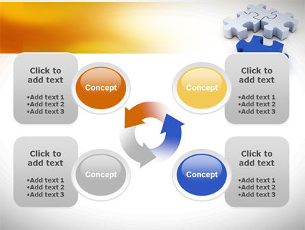 Puzzle Fix PowerPoint Template Slide 9