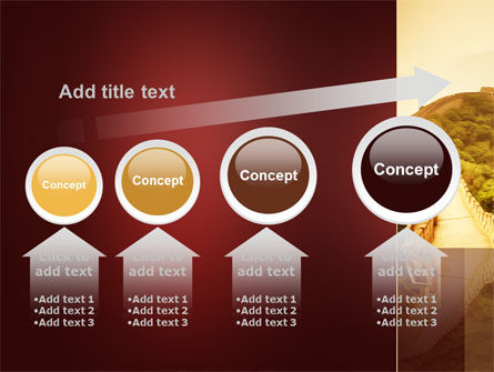 Great Chinese Wall PowerPoint Template Slide 13