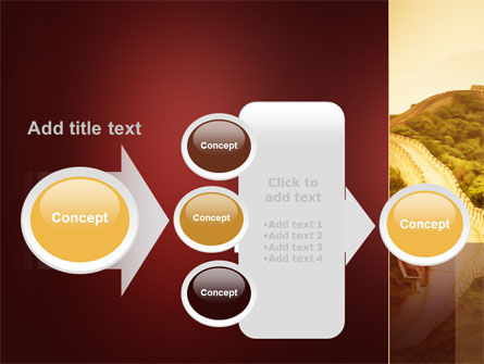 Great Chinese Wall PowerPoint Template Slide 17
