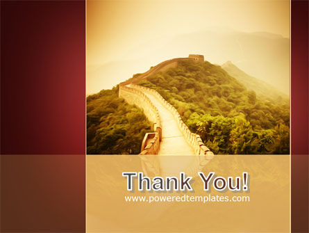Great Chinese Wall PowerPoint Template Slide 20