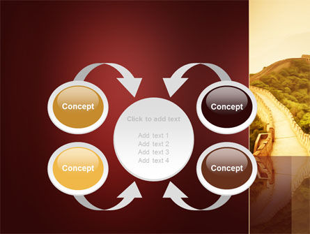 Great Chinese Wall PowerPoint Template Slide 6