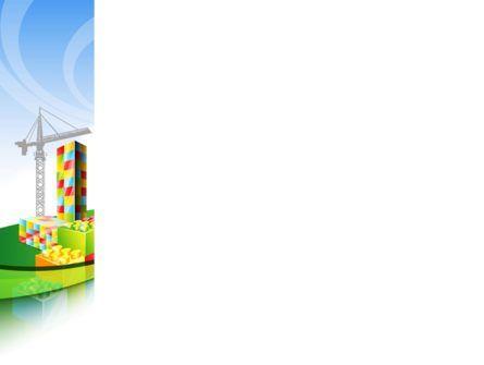 Lego Building PowerPoint Template, Slide 3, 08466, Construction — PoweredTemplate.com