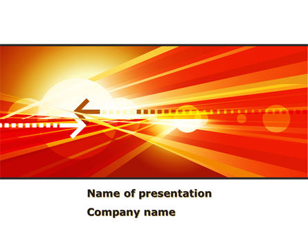 Red Theme Interactive PowerPoint Template