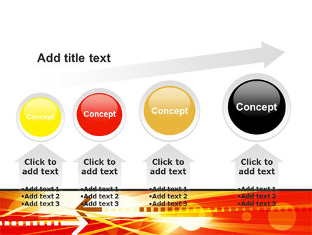 Red Theme Interactive PowerPoint Template Slide 13