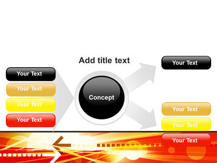 Red Theme Interactive PowerPoint Template Slide 14