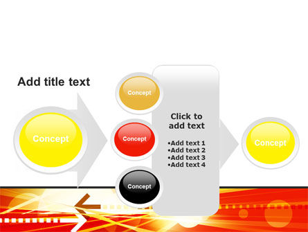 Red Theme Interactive PowerPoint Template Slide 17