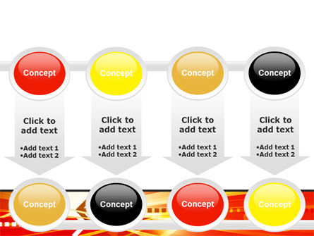 Red Theme Interactive PowerPoint Template Slide 18