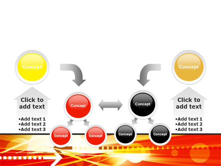 Red Theme Interactive PowerPoint Template Slide 19