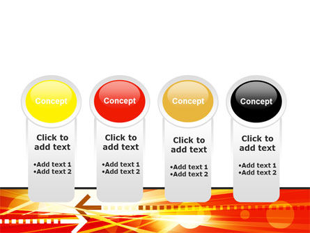Red Theme Interactive PowerPoint Template Slide 5
