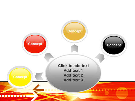 Red Theme Interactive PowerPoint Template Slide 7